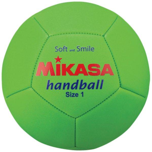 画像1: ミカサ スマイルハンドボール1号 (1)